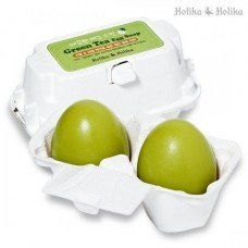 Пенка для умывания Holika Holika Green Tea Egg Soap с зеленым чаем